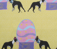 Happy Easter Boston Terriers