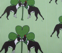 St. Patricks Day Boston Terriers