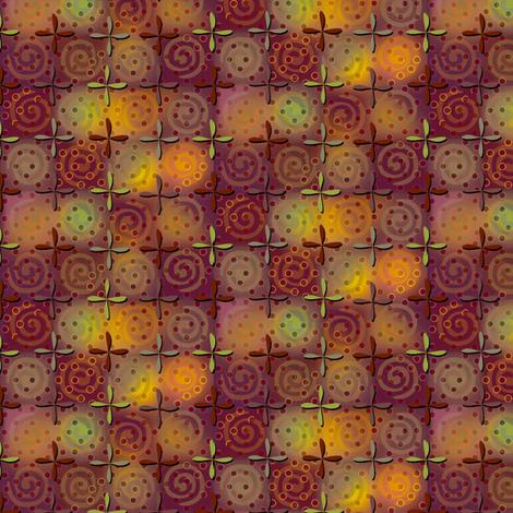 fiestival - copper fabric by glimmericks on Spoonflower - custom fabric