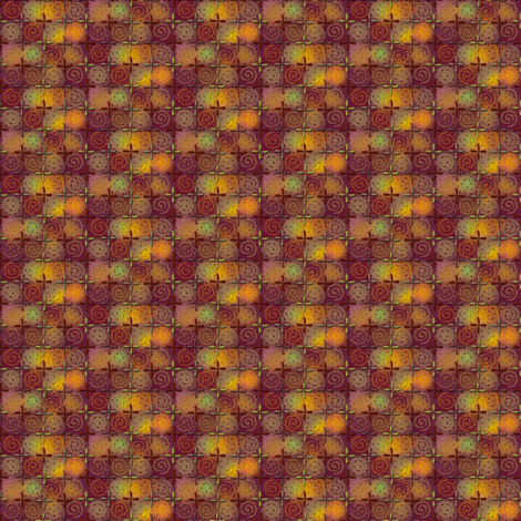 fiestival - copper-small fabric by glimmericks on Spoonflower - custom fabric
