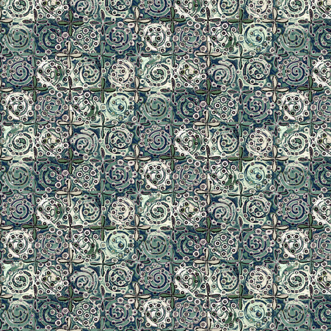 fiestival icey fabric by glimmericks on Spoonflower - custom fabric
