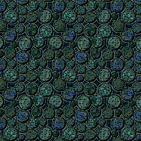atlantis_metal fabric by glimmericks on Spoonflower - custom fabric