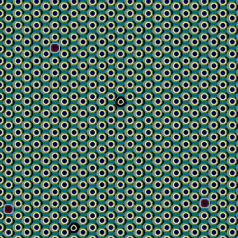 atlantis_dots 3X fabric by glimmericks on Spoonflower - custom fabric