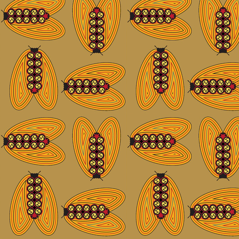Soul of Cairo fabric by david_kent_collections on Spoonflower - custom fabric