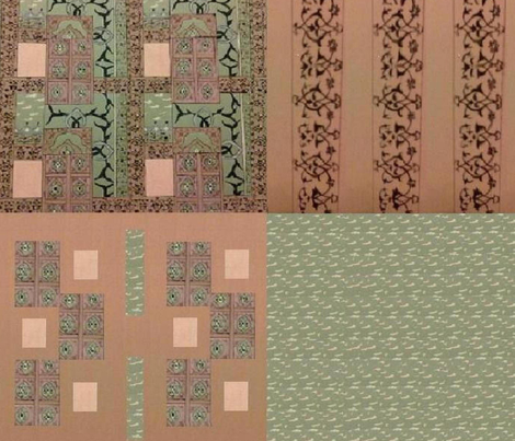 coordinate  fabric by raasma on Spoonflower - custom fabric