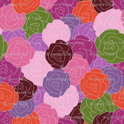 Layered Roses