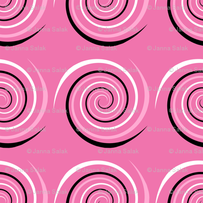 Electric Swirl - Pink