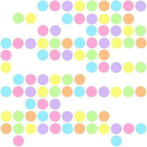 Baby Pastel Dots Pattern