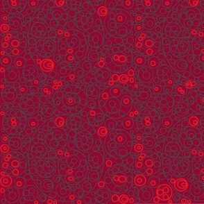 Circles in Red