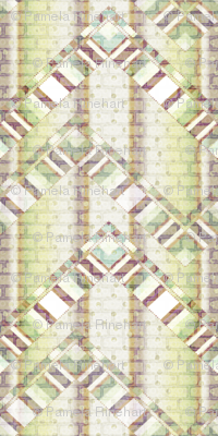 brick zigzag