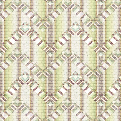 brick zigzag fabric by glimmericks on Spoonflower - custom fabric