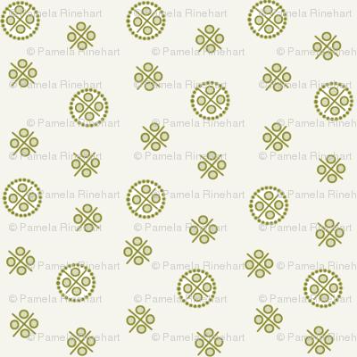 delft dots olive