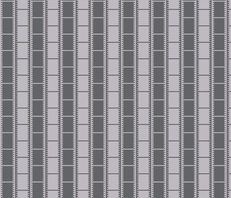 Film Strip Stripe fabric by modgeek on Spoonflower - custom fabric
