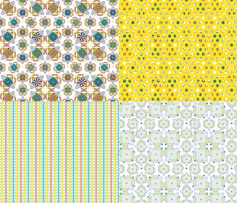 Candy Coordinates fabric by maplewooddesignstudio on Spoonflower - custom fabric