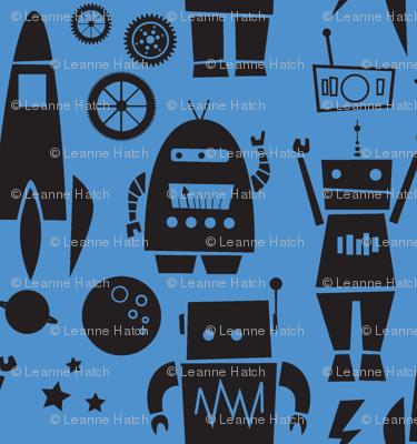 Rockets N' Robots (blue shadow)