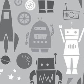 Rockets N' Robots (gray)