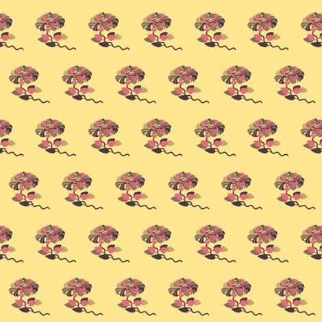 carol's rose fabric by tinhearts on Spoonflower - custom fabric