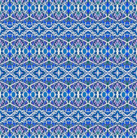 Midnight Sanskrit Skies fabric by edsel2084 on Spoonflower - custom fabric