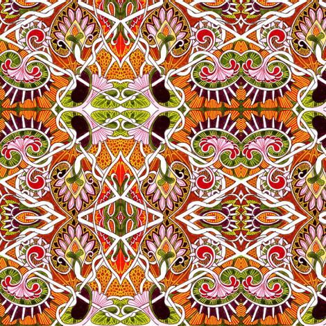 Gypsy Soul fabric by edsel2084 on Spoonflower - custom fabric