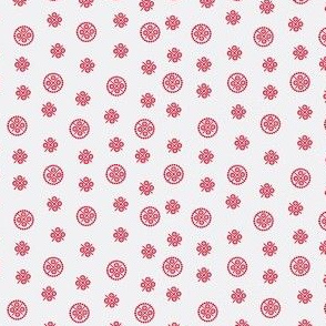 delft dots red