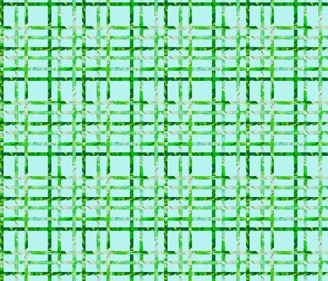 Evergreen Plaid fabric by angelray on Spoonflower - custom fabric