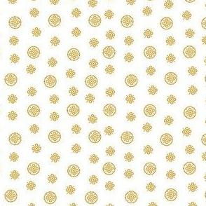 delft dots gold