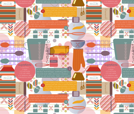 Crepe Party !! fabric by demigoutte on Spoonflower - custom fabric