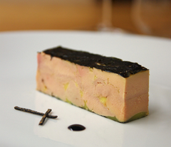 Foie Gras Recipe Pattern