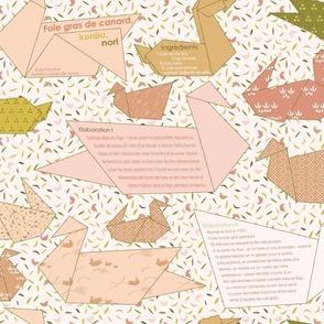 Foie Gras Recipe Pattern