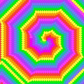 8 fan spirals