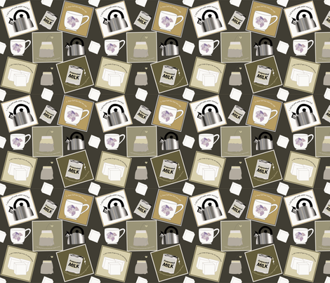 A Perfect Cup fabric by brandymiller on Spoonflower - custom fabric