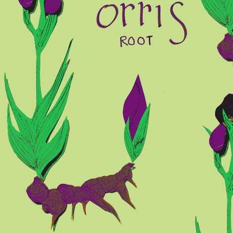 Orris Root fabric by boris_thumbkin on Spoonflower - custom fabric