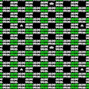 Space Invaders Plaid
