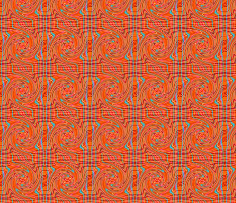 plaid_twirl fabric by mammajamma on Spoonflower - custom fabric