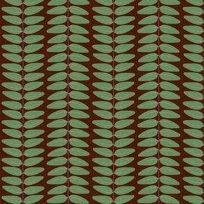 Hypericum Hidcote leaf stripe - dark (Coordinate for Buttercups on a bush)