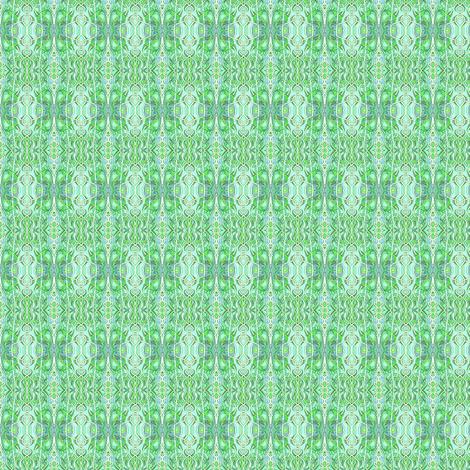 Subtle Green Vertical Stripe fabric by edsel2084 on Spoonflower - custom fabric