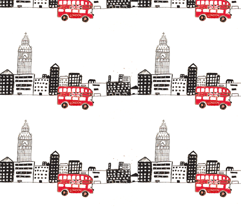 london  fabric by lolo23 on Spoonflower - custom fabric