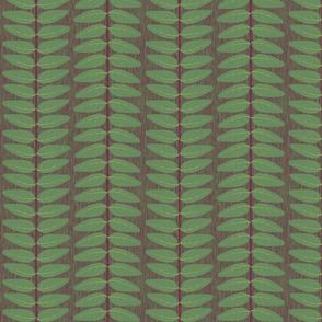 Hypericum Hicote leaf stripe (coordinate for Buttercups on a bush)