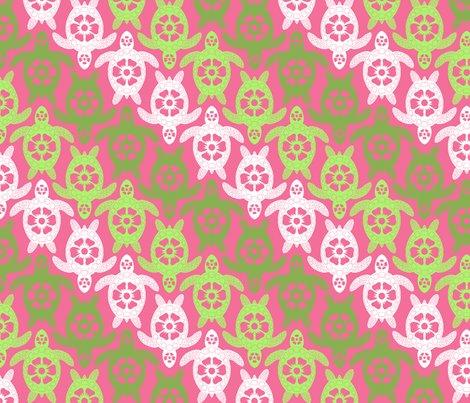 Rrturtles_stripe_turtles_only_multicolor_green_pink_v2-01_shop_preview