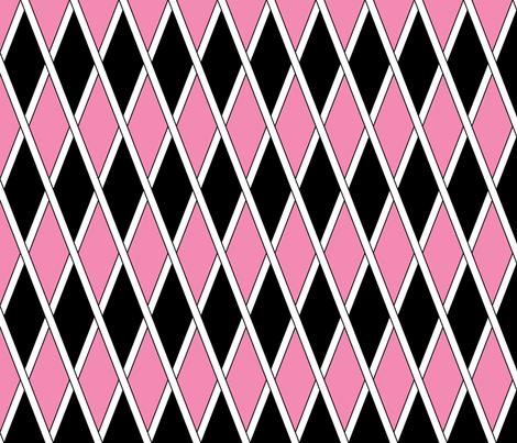The Jester's Party, Lady Zebra fabric by taracrowleythewyrd on Spoonflower - custom fabric