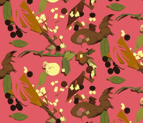 Floor of Gethsemane fabric by boris_thumbkin on Spoonflower - custom fabric