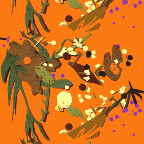 Enchanted Forest Floor fabric by boris_thumbkin on Spoonflower - custom fabric