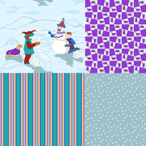 clowns_boys_snowman_dog_4_in_1_D