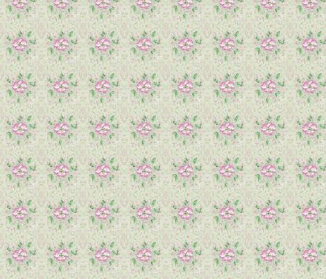 Cherry Flower Blossom fabric by mariannemathiasen on Spoonflower - custom fabric