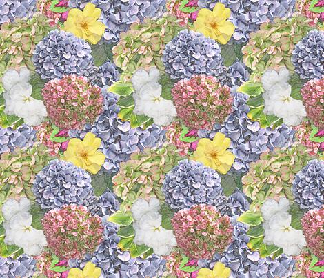 Launceston Flowers fabric by tallulahdahling on Spoonflower - custom fabric