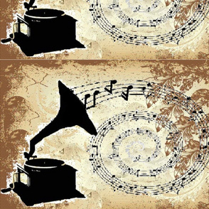 Lace gramophone