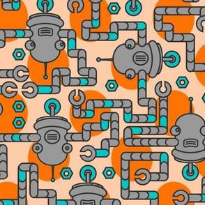 Robots on Sunrise