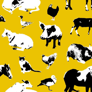 Farm Animals (Yellow)