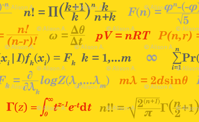 Equations and Equations - Yellow