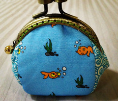 My sister's goldfishes - light blue